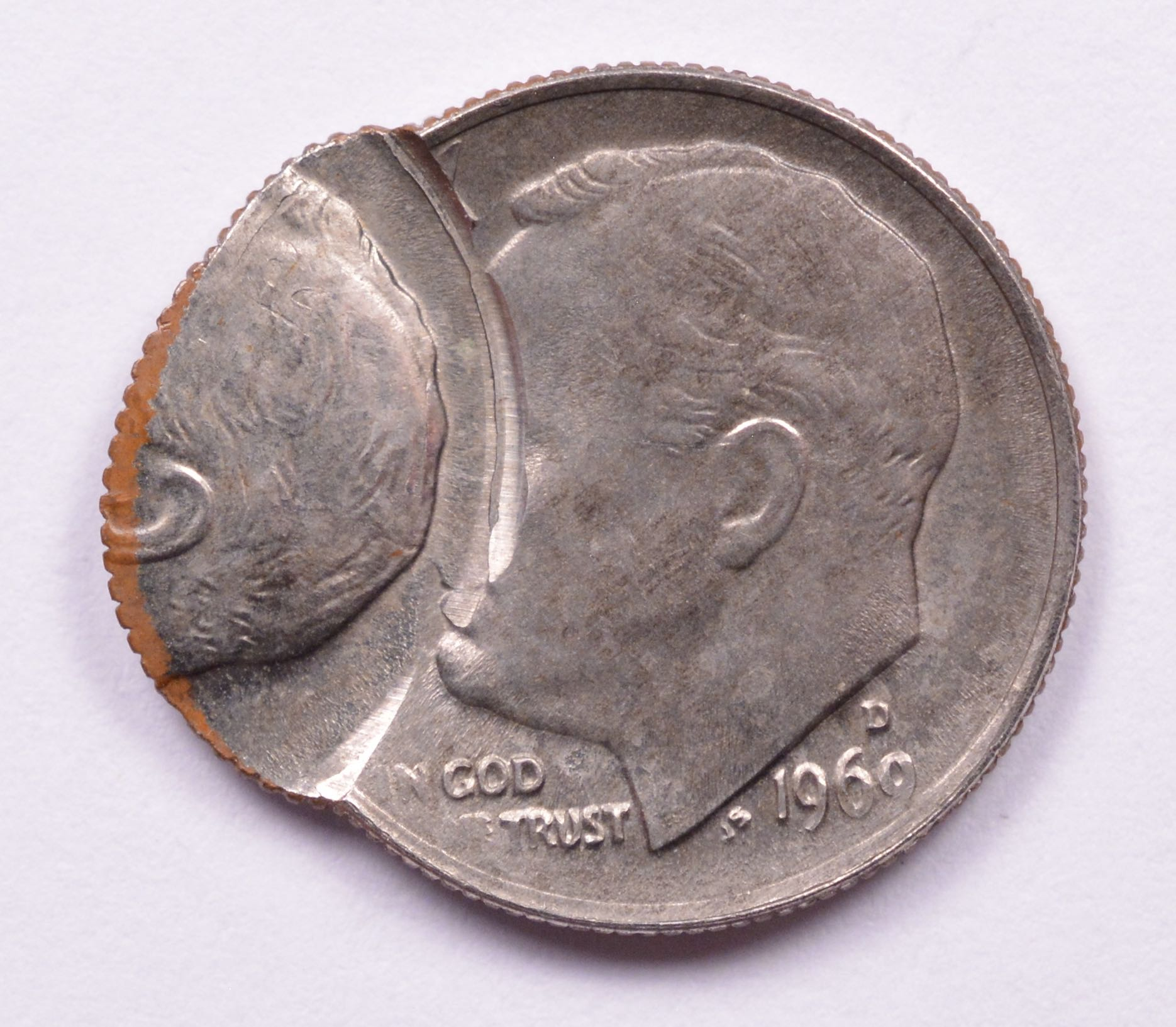 What is a 1969 dime?